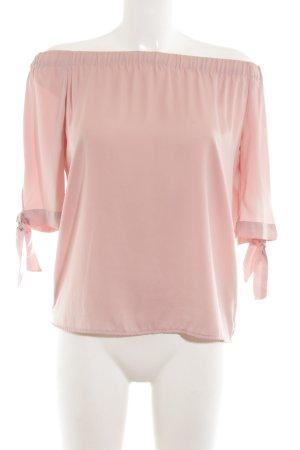 H&M Blouse Carmen rose chair-rose style d'affaires