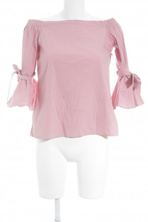 H&M Carmen-Bluse rosa Elegant