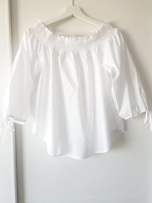 H&M L.O.G.G. Blusa alla Carmen bianco