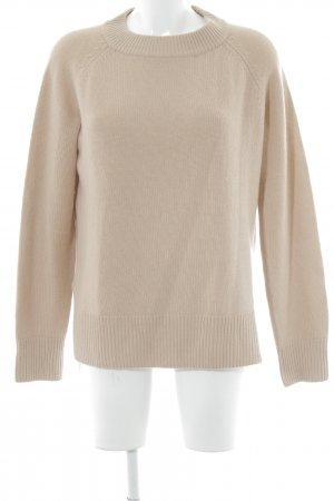 H&M Cashmerepullover apricot Casual-Look