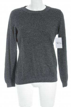 H&M Cashmerepullover dunkelgrau-grau Casual-Look
