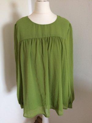H&M Long Sleeve Blouse lime-green