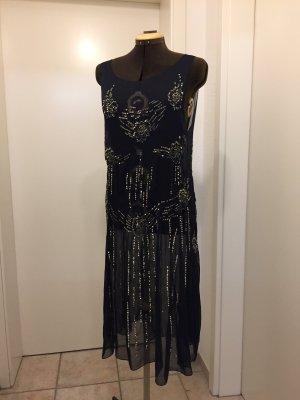 H&M Chiffon-Kleid mit Pailletten und Bolero