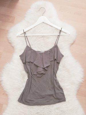H&M Chiffon Rüschen Blogger Top Shirt Gr.XS/S