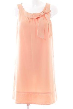 H&M Vestido de chifón nude-rosa elegante