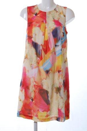 H&M Chiffon Dress abstract pattern business style