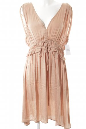 H&M Chiffonkleid apricot Casual-Look