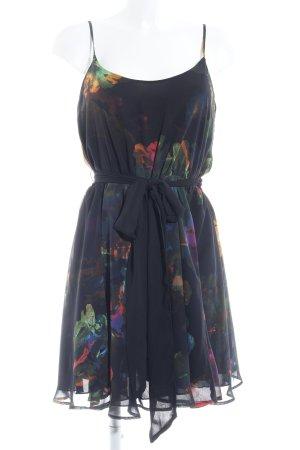 H&M Vestido de chifón estampado floral estilo fiesta