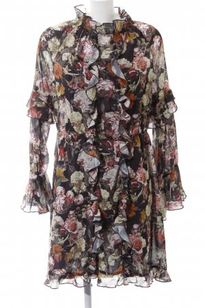H&M Chiffonkleid Blumenmuster Romantik-Look