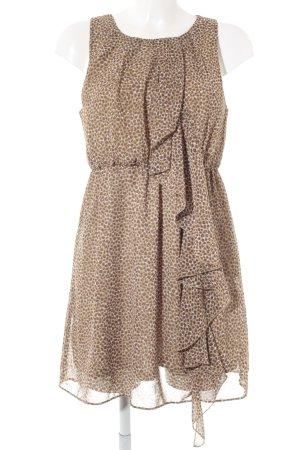 H&M Robe chiffon motif tache de couleur imprimé animal