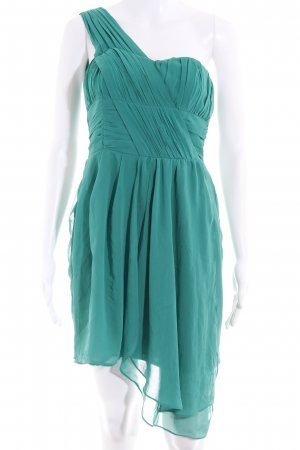 H&M Chiffonkleid grün Casual-Look