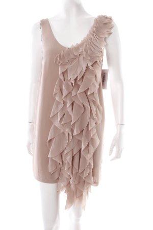 H&M Chiffonkleid nude-altrosa klassischer Stil