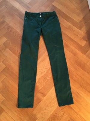 H&M Chino dunkelgrün Gr. 36 top Zustand