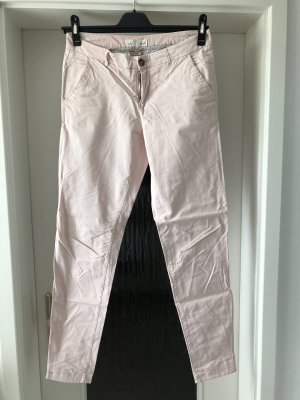 H&M Pantalon chinos rose clair