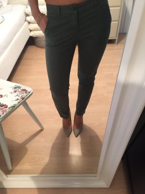 H&M Chino Hose Jeans Cargo Khaki Olive 34