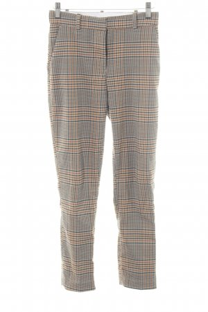H&M Chinos check pattern casual look
