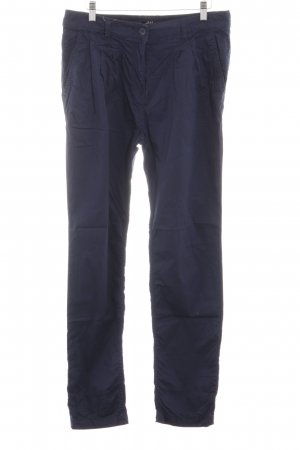 H&M Chinohose blau Casual-Look