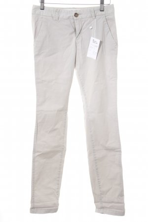 H&M Chinohose hellbeige Casual-Look
