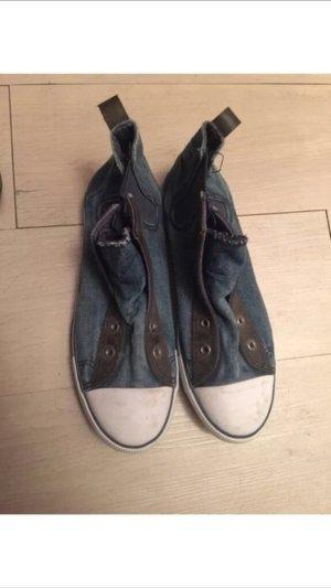 H&M Chucks Sneaker Jeans Stoff Größe 39