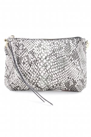 H&M Clutch Animalmuster Reptil-Optik
