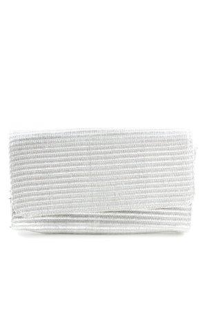 H&M Pochette argenté imprimé allover style décontracté