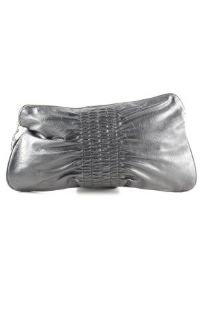 H&M Borsa clutch argento stile casual