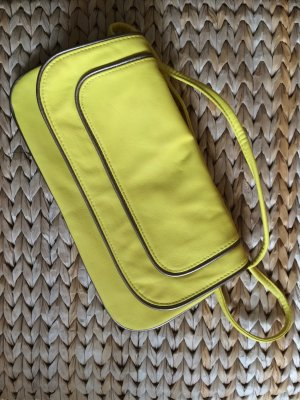 H&M Clutch gelb NEU Handtasche Umhängetasche Sommer