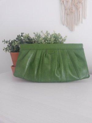 h&m Clutch Schlangenleder grün Tasche cos Snake Hochzeit &otherstories mango