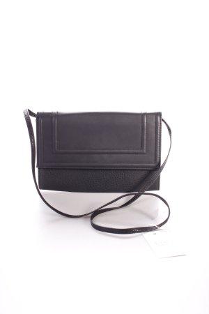 H&M Clutch schwarz Zierbesatz