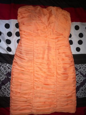 H&M Bandeau Dress apricot