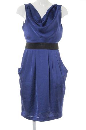H&M Cocktailkleid blau Business-Look