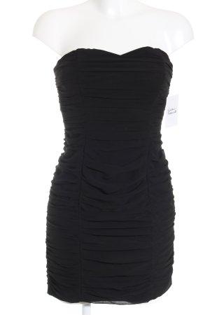 H&M Cocktailkleid schwarz klassischer Stil
