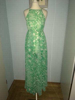 H&M Beach Dress turquoise-white