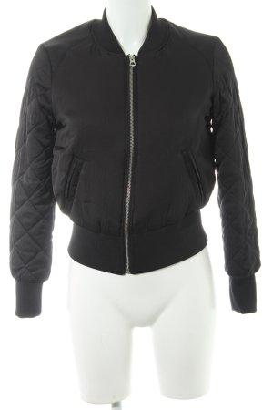 H&M Collegejacke schwarz sportlicher Stil