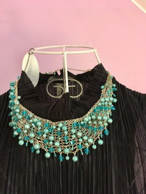H&M Collier Necklace silver-colored-turquoise