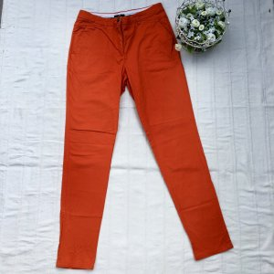 H&M Colour-Blocking: Chino Orange & T-Shirt Rosé