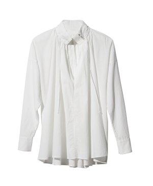 H&M Concious Exclusive 2016 Bluse Baumwolle weiß Oversized edel minimalistisch