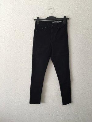 H&M Concious schwarze high-waist Jeans Denim 36