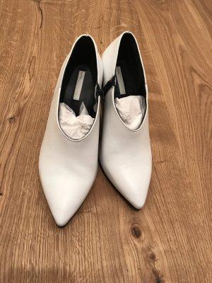 H&M Conscious Collection Sandalias con tacón blanco