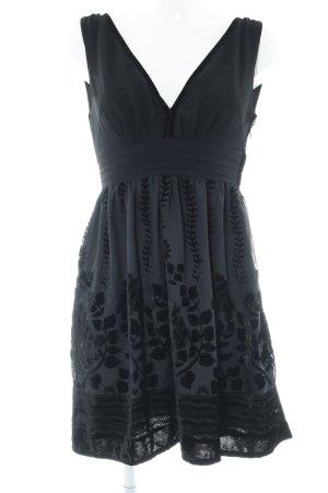 H&M Conscious Collection Abendkleid schwarz Elegant