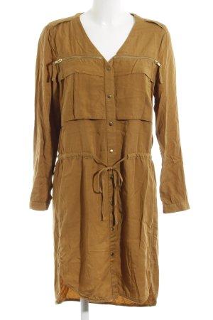 H&M Conscious Collection Robe cargo brun sable style décontracté