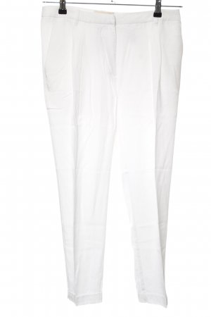 H&M Conscious Collection Chinohose weiß Casual-Look