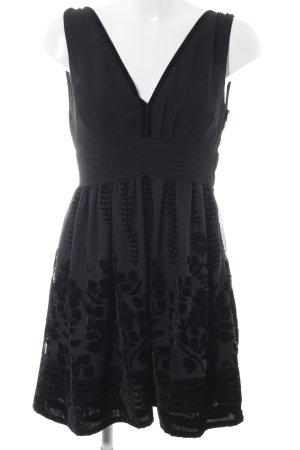 H&M Conscious Collection Cocktailkleid schwarz Elegant