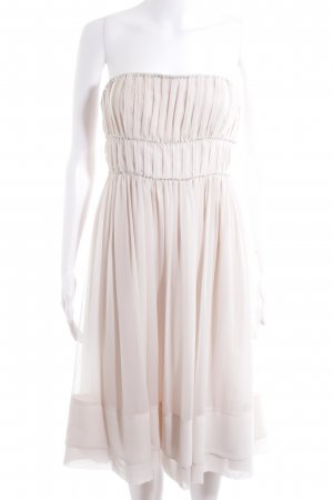 H&M Conscious Collection Corsage Dress dusky pink-pink elegant