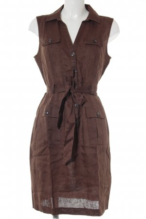 H&M Conscious Collection Hemdblusenkleid braun Casual-Look