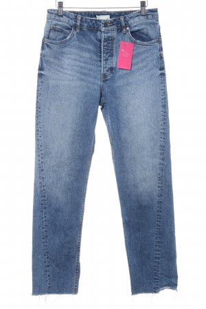 H&M Conscious Collection High Waist Jeans blau Casual-Look