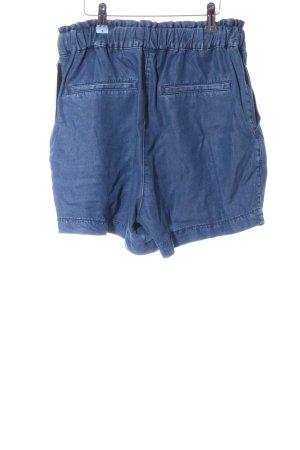 H&M Conscious Collection High-Waist-Shorts blau Casual-Look