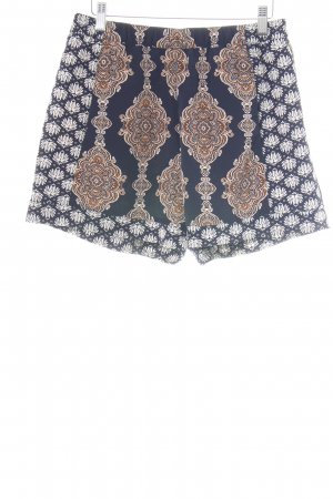 H&M Conscious Collection Hot Pants blau Mustermix Casual-Look