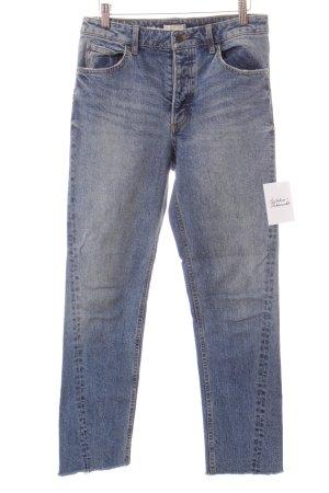 H&M Conscious Collection Jeans blau Street-Fashion-Look