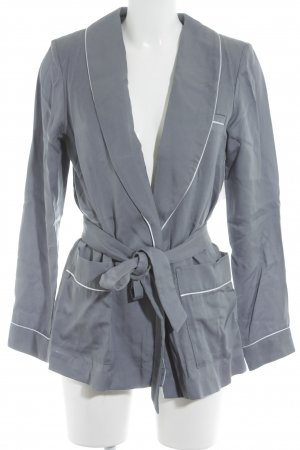 H&M Conscious Collection Jerseyblazer grau-hellgrau Casual-Look